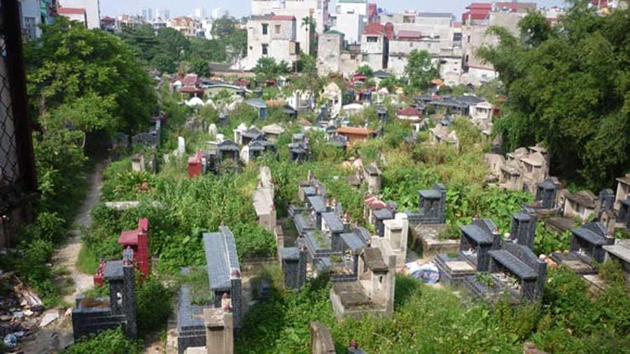 Binh Hung Hoa cemetery's land