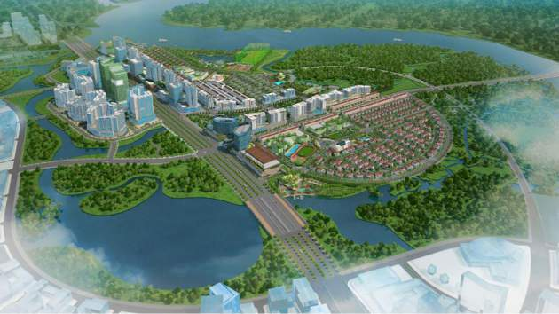 Building Cat Lai - Binh Duong Dong urban area is over 66ha