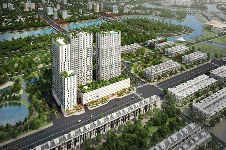 Outstanding housing projects of Kien A investors