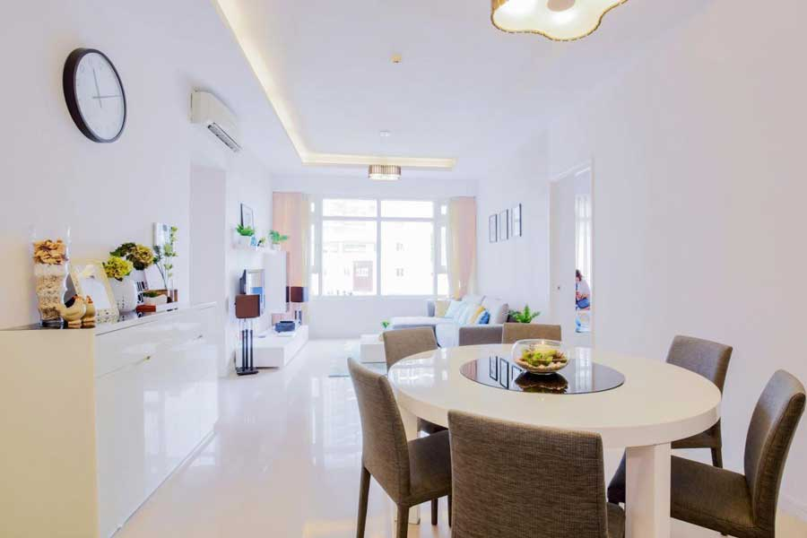 White are favored in home design and decoration