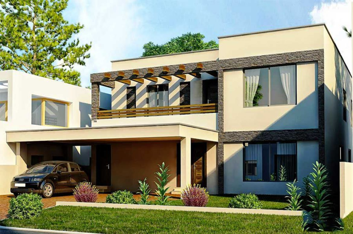Modern 2 story house designs are the right choice for many