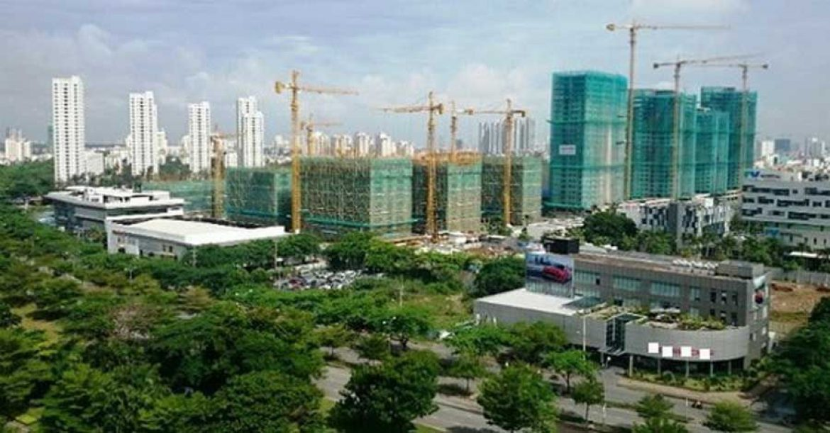 real estate market in east HCMC