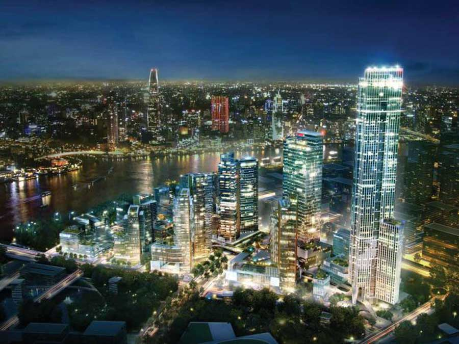 Keppel Land, CapitaLand and Mapletree