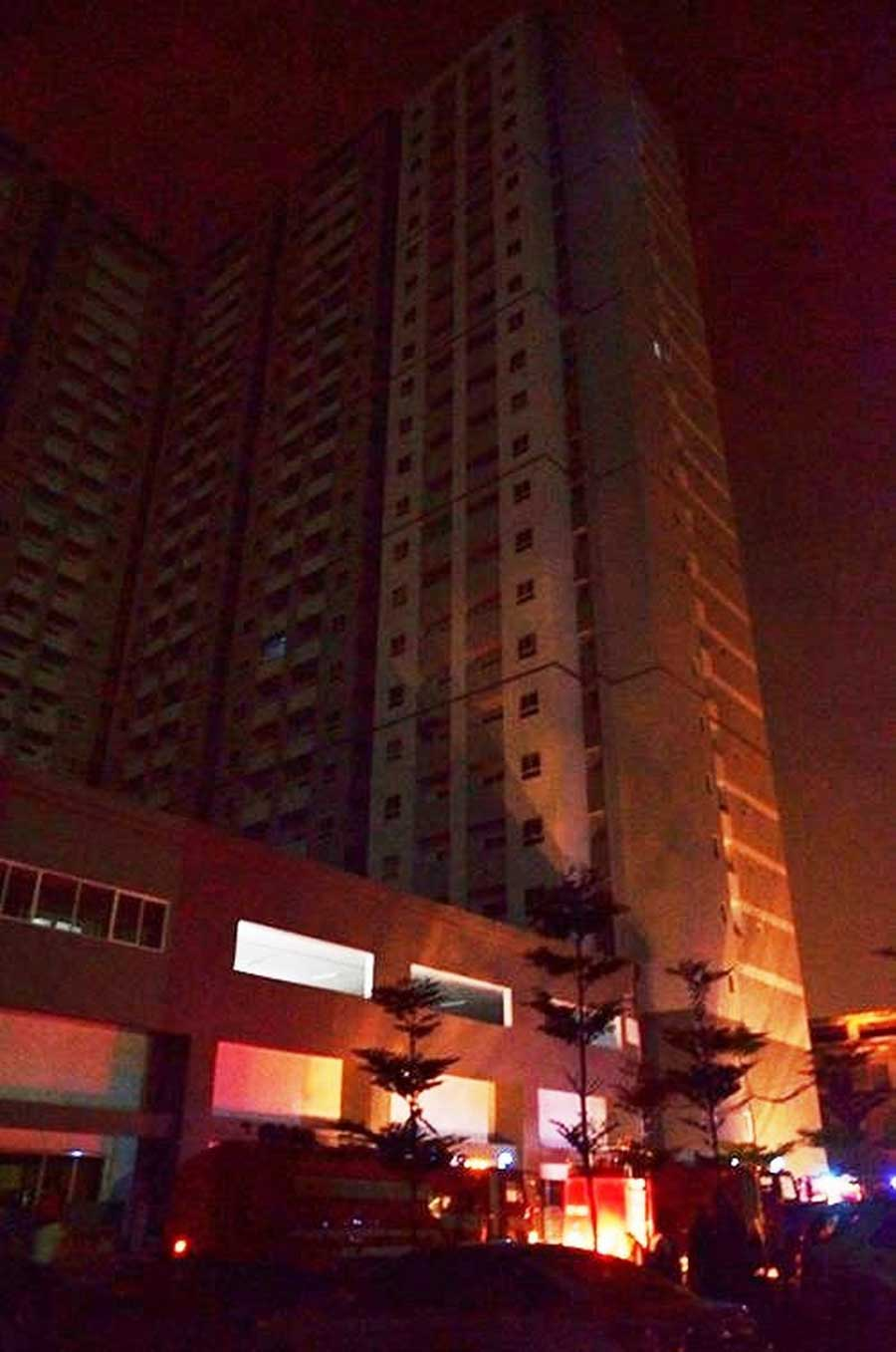 Apartment management does not guarantee fire