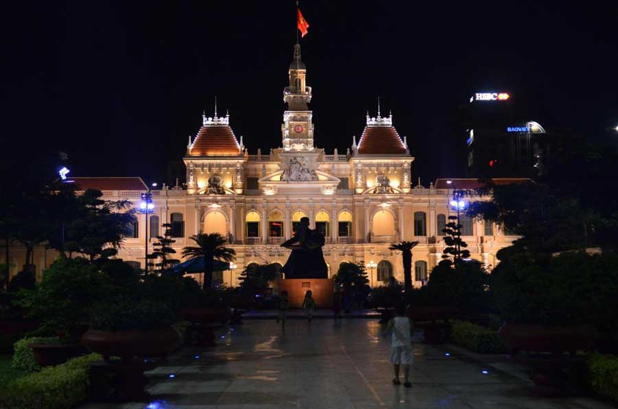 famous ancient architecture in Ho Chi Minh City
