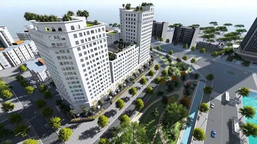 Luxury apartment project, resort