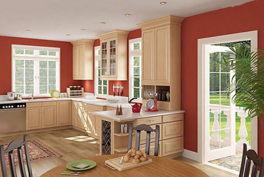 designing the kitchen