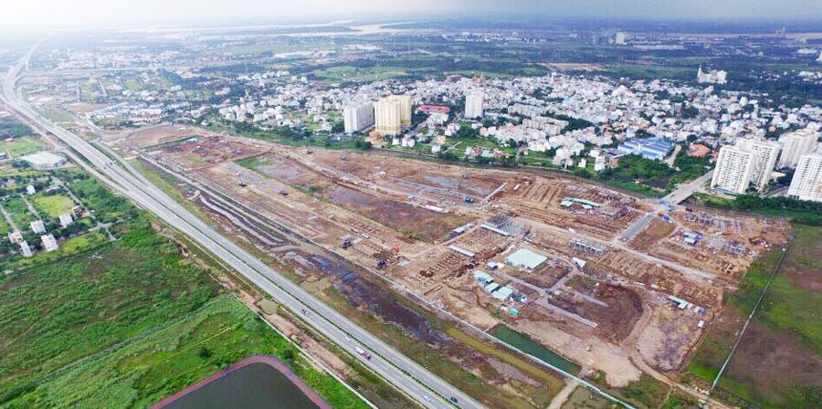 The proeprty supply boom along the Ho Chi Minh City - Long Thanh - Dau Giay Expressway