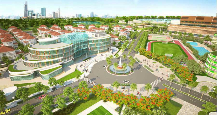 Lakeview City project