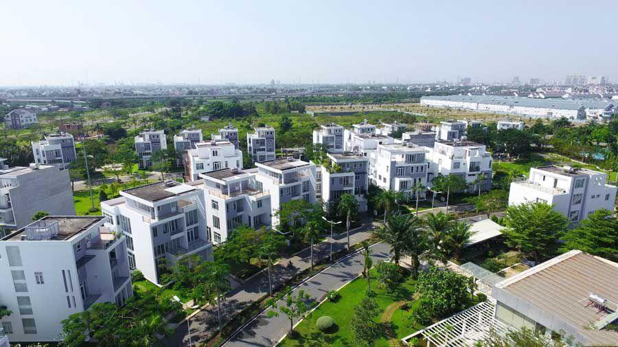 Luxury commercial villas