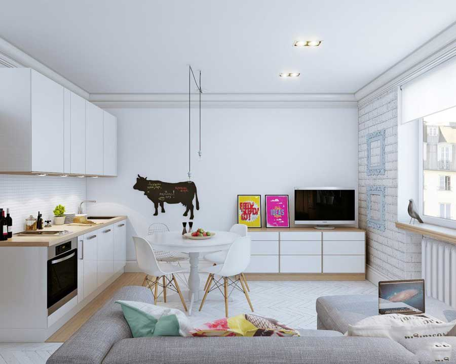 Experience buying furniture for small home