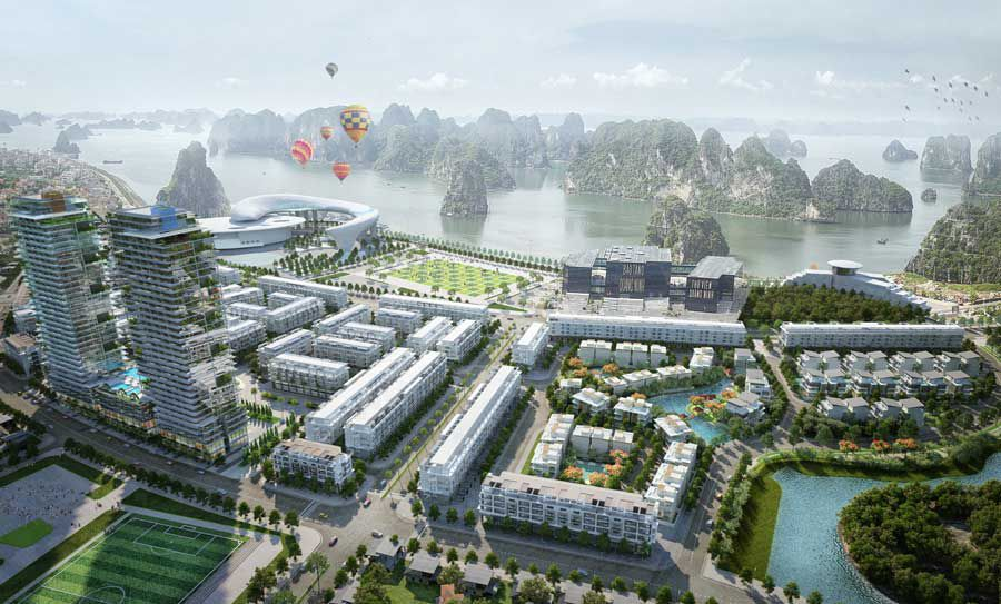 Luxury apartment project worth living in Ha Long