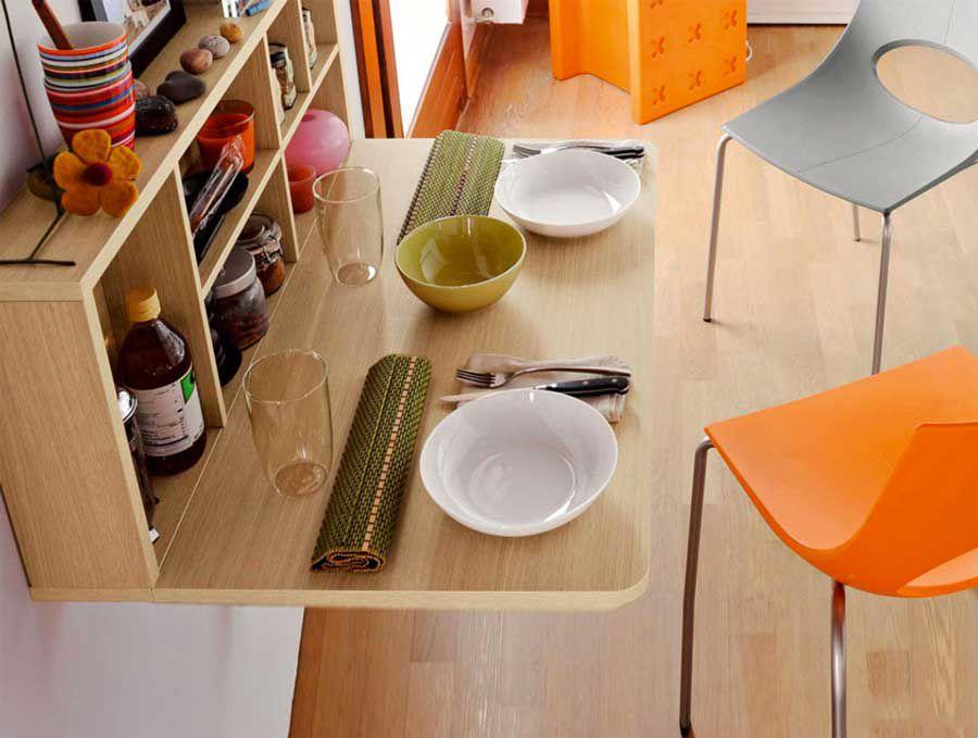 Small area thanks to intelligent interior
