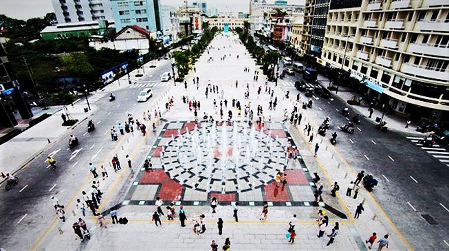 Ho Chi Minh City will have walkstreets on 8 routes in the center