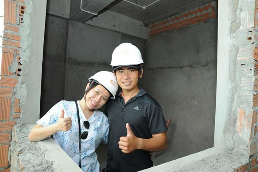Customers involved in monitoring Him Lam An Phu project