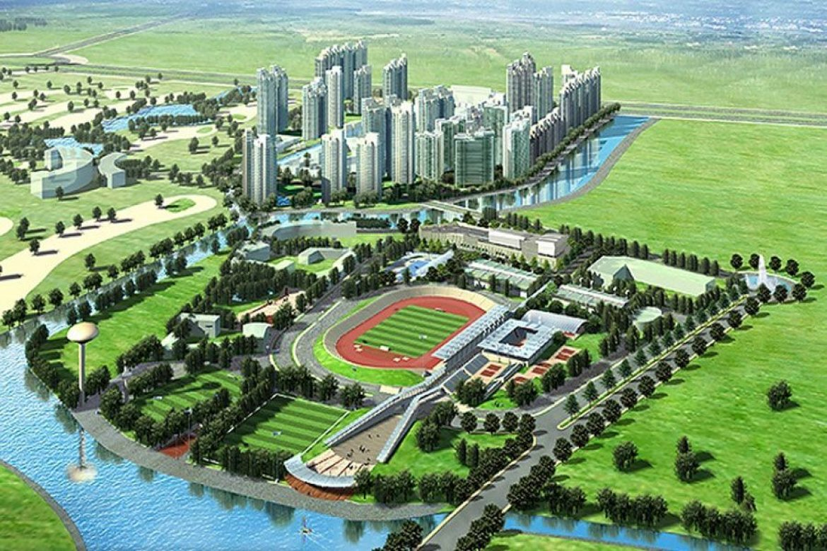 """Rach Chiec Sports Complex, """"kick"""" for property in the East and Saigon Sports City"""