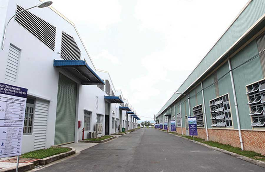 The trend of industrial estate