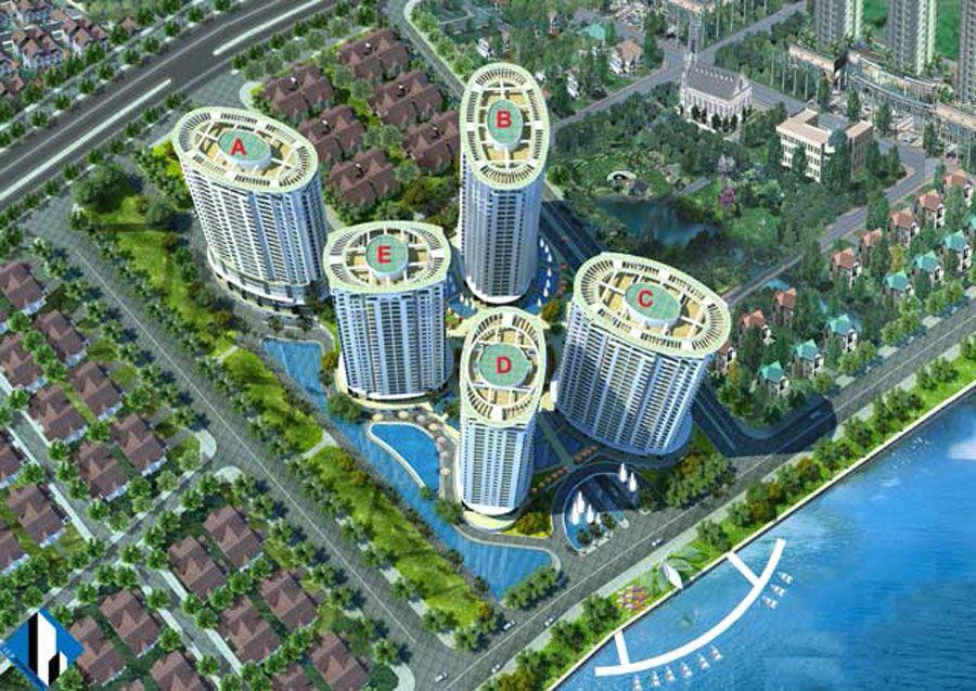 Saigon Riverside Apartment District 7 owns a prime location
