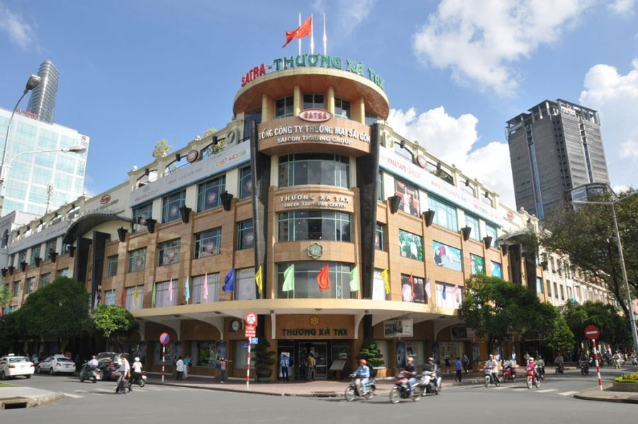Breaking away the oldest Saigon Tax Trade Center