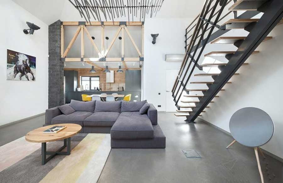 Small town house design