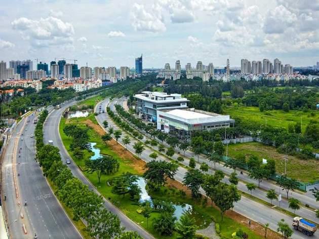 Saigon South Building