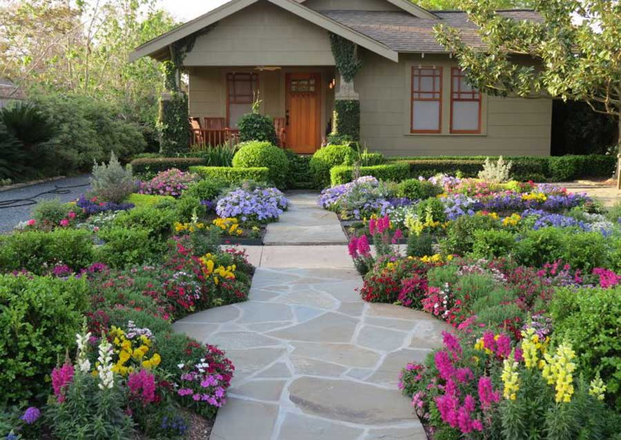 Take four seasons ahead of the porch