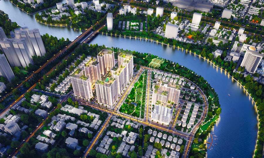 projects in Saigon South metropolitan area