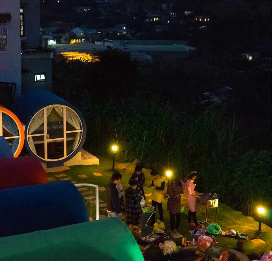 Overnight in Dalat in the sewer hotel
