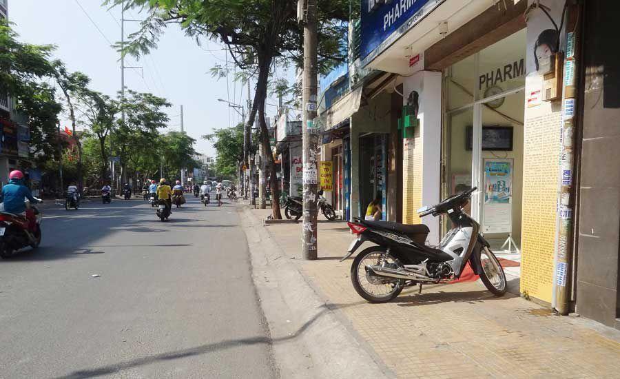 house street side