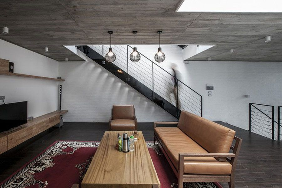 The 18m long pipe house makes everyone good look because of its beautiful design