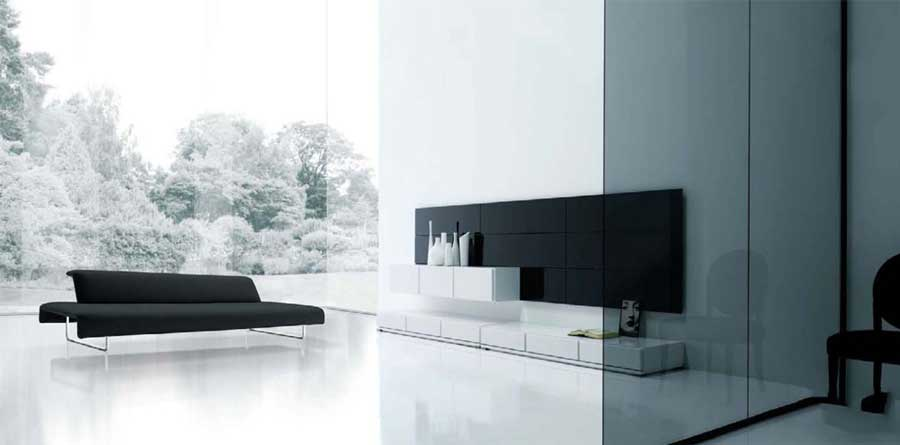 Comfortable living with minimalist furniture