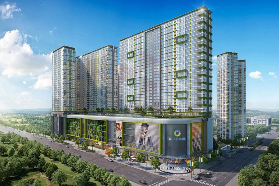 The apartments are expected to open in the first quarter of 2018