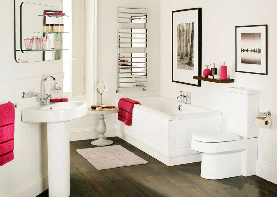 8 things when decorating the bathroom
