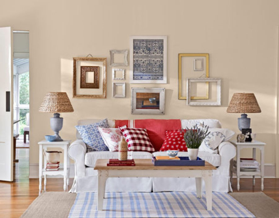 Interior design trends in the living room