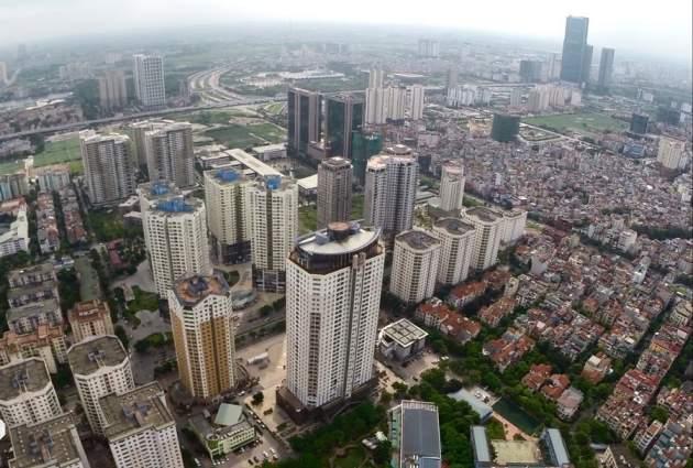 West land development in Hanoi in 2017