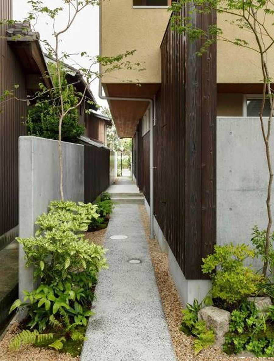 The Japanese built a two-storey house