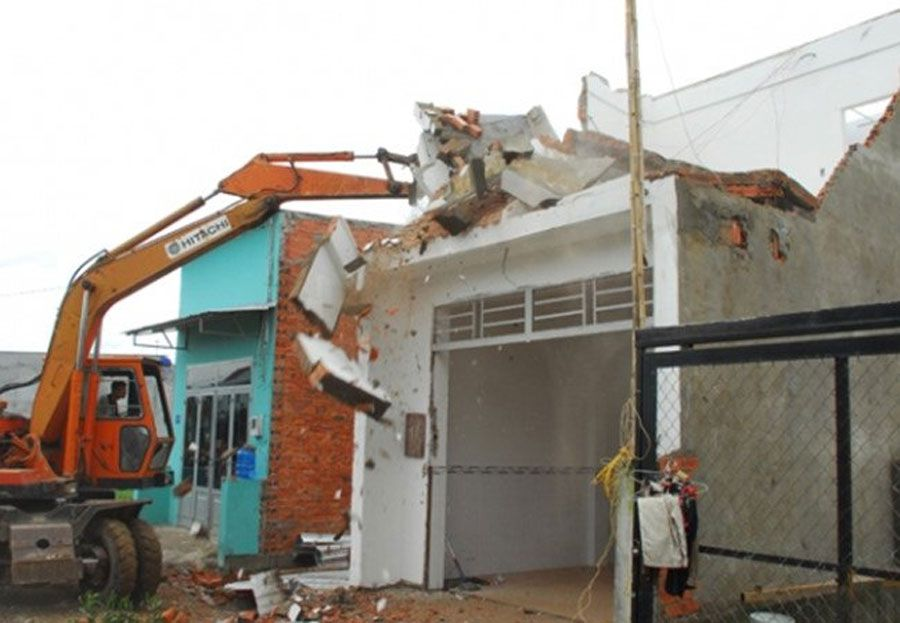 Ho Chi Minh City handled the illegal house in Binh Chanh Distric