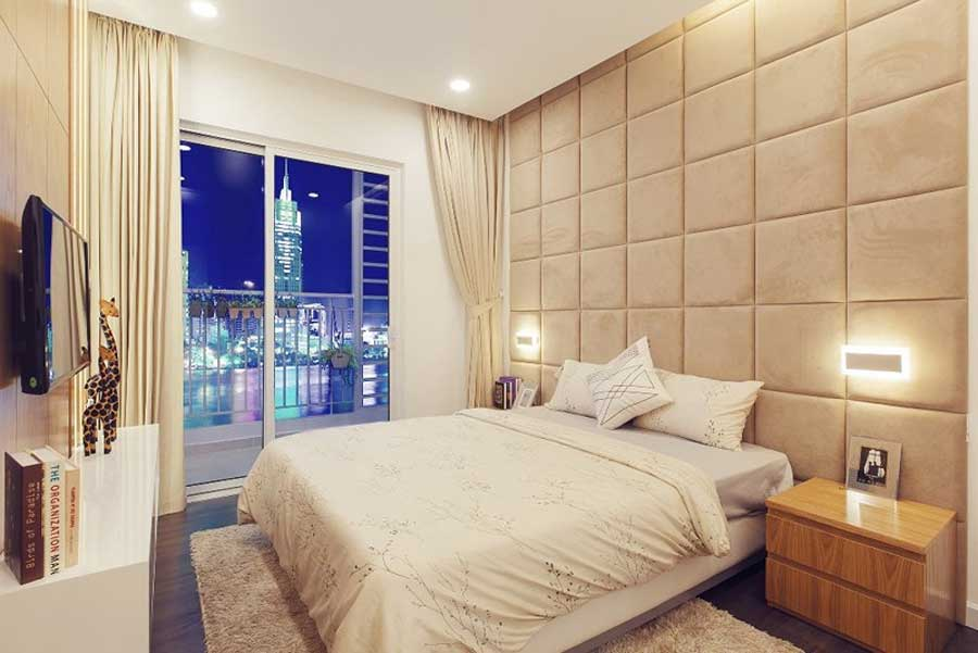 3-bedroom apartment overlooking the Saigon River
