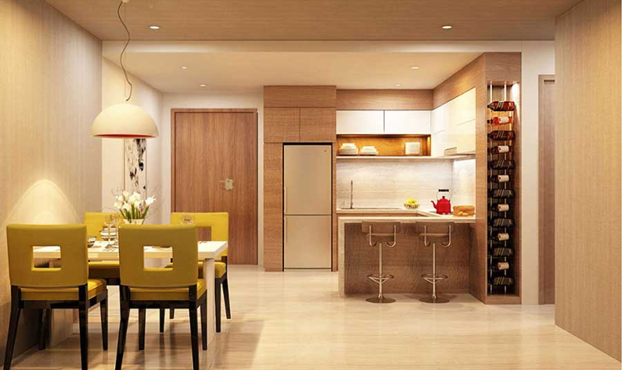 waterway area and heart wall area when buying apartments