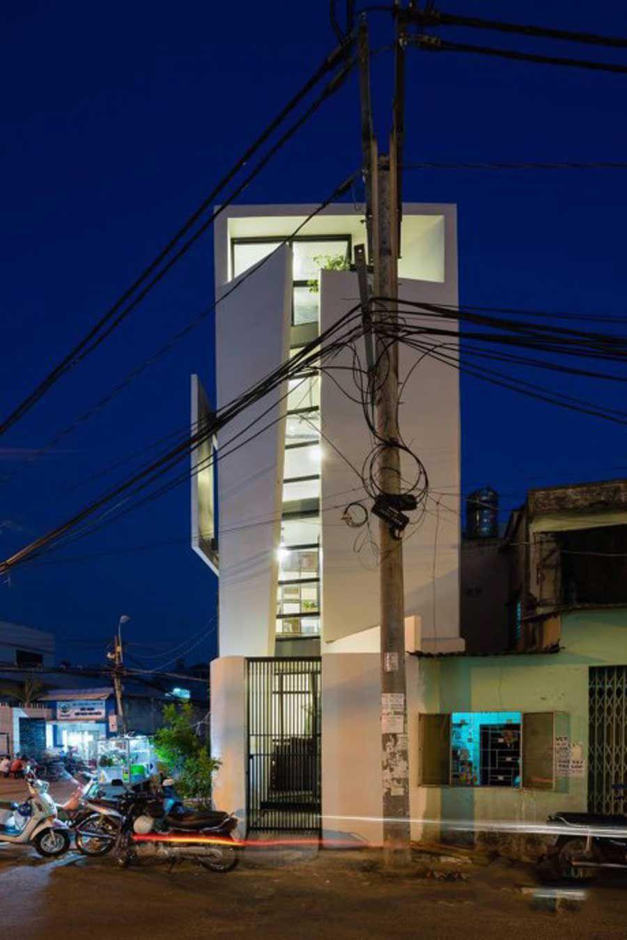 Three-storey house in Saigon
