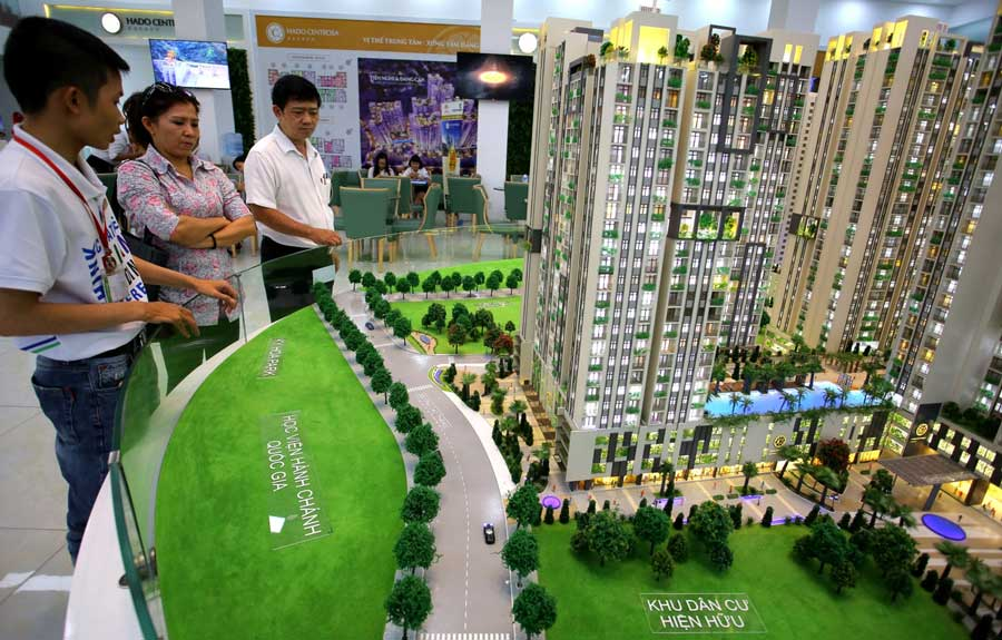 The real estate market in HCM City suddenly shifted to the high segment