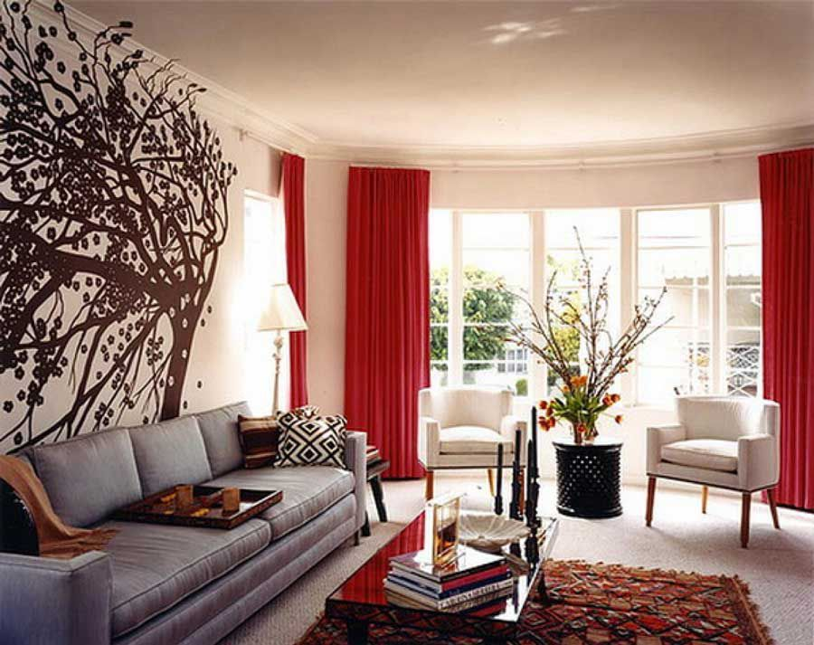 Simple design makes the living room more beautiful