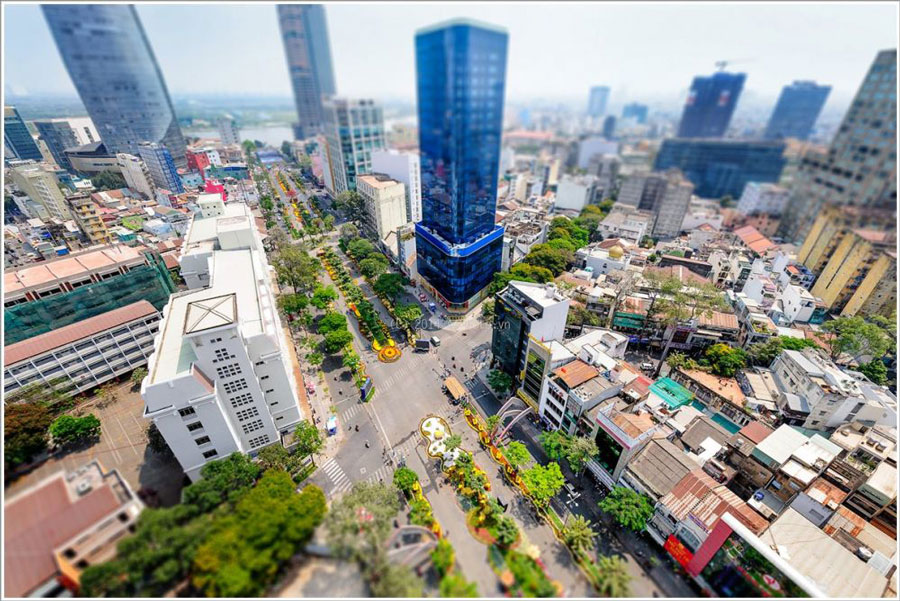 The office for rent has the highest price in ASEAN