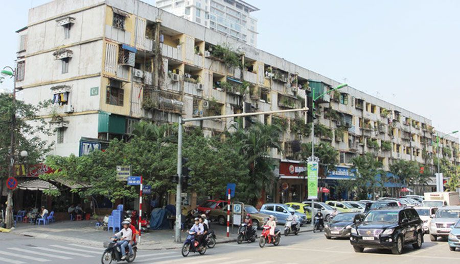 District People's Committees will chair the handling of old condominiums