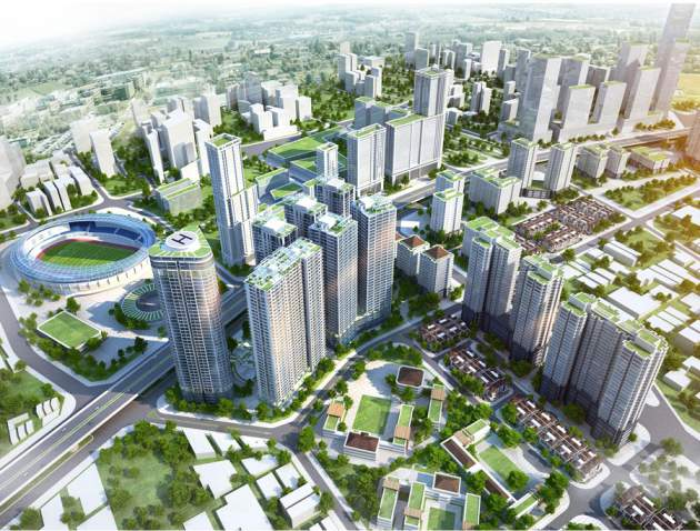 Asia is the focus area of real estate investment