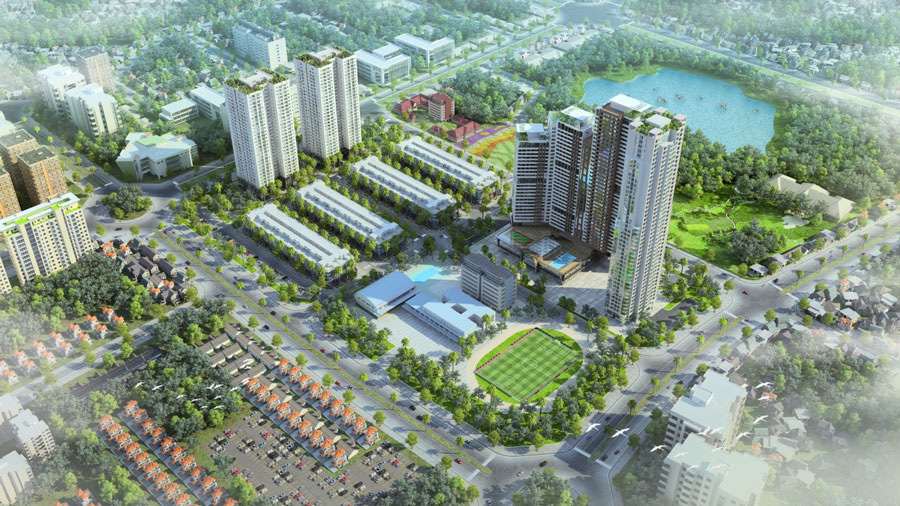 Information about real estate projects