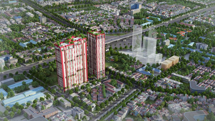 The real estate market in Hanoi is bleak