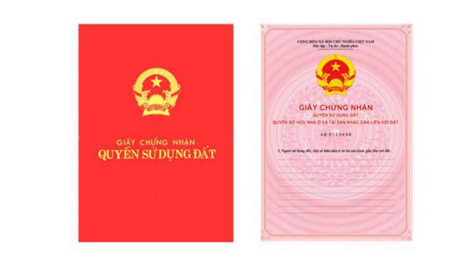 Red books are issued to households and individuals