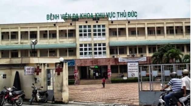Thu Duc was built a new hospital