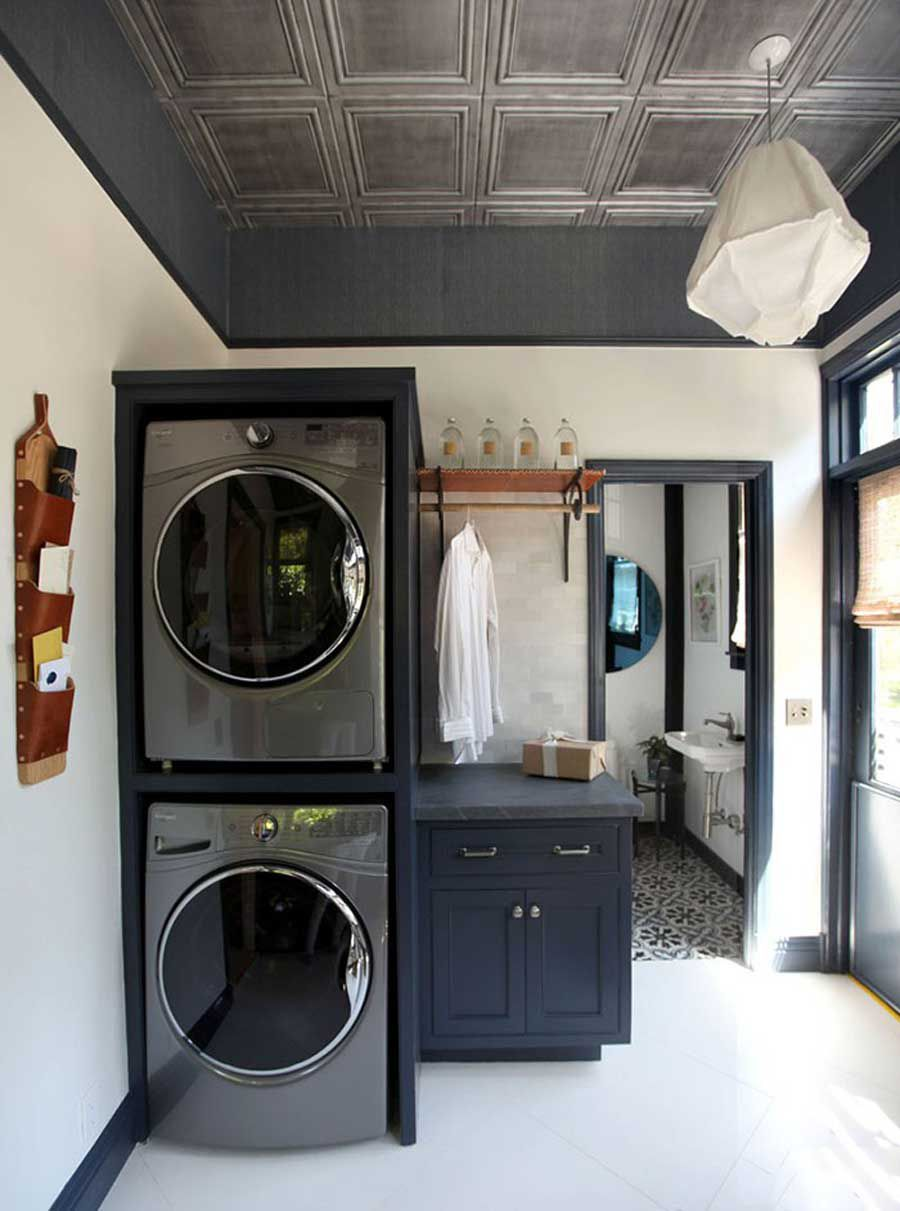 "Laundry room ""peeling"" thanks to interior improvements"